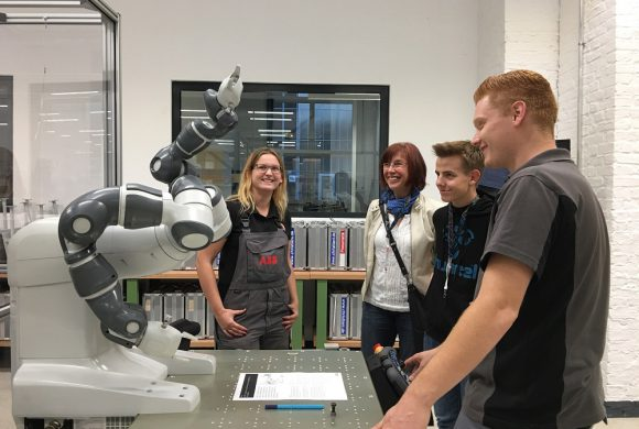 Erster Tag der offenen Tür im neu eröffneten ABB Ausbildungszentrum Berlin