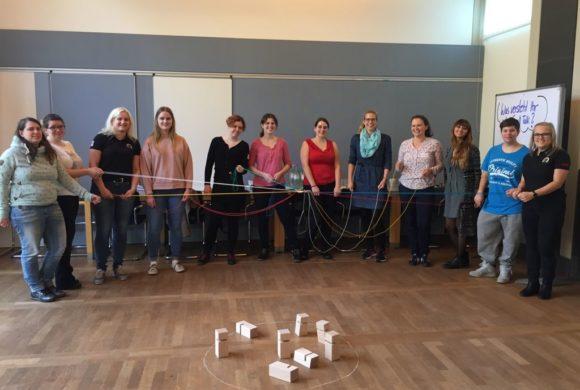 girlsatec-Botschafterinnen im Wochenendseminar