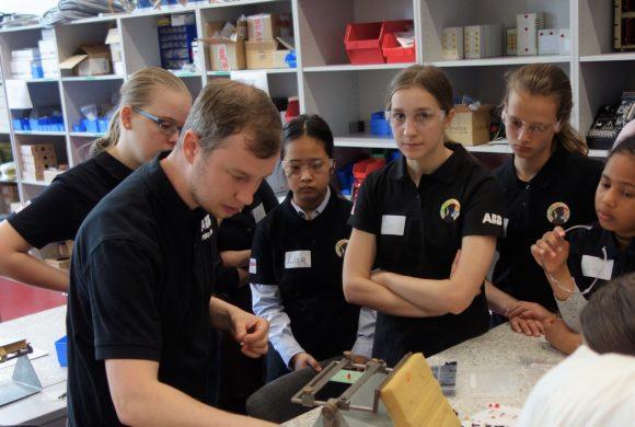 Girls' Day im ABB Ausbildungszentrum