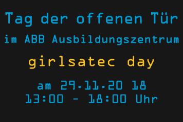 """""""girlsatec day"""" – Tag der offenen Tür im ABB AZB"""