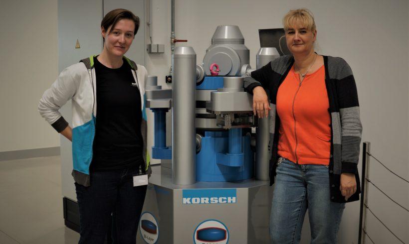 Frauenpower bei der Korsch AG