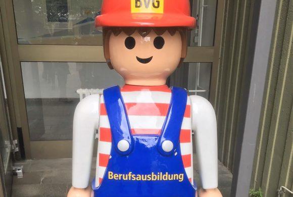 """""""Einsteigen bitte"""" – bei der BVG"""