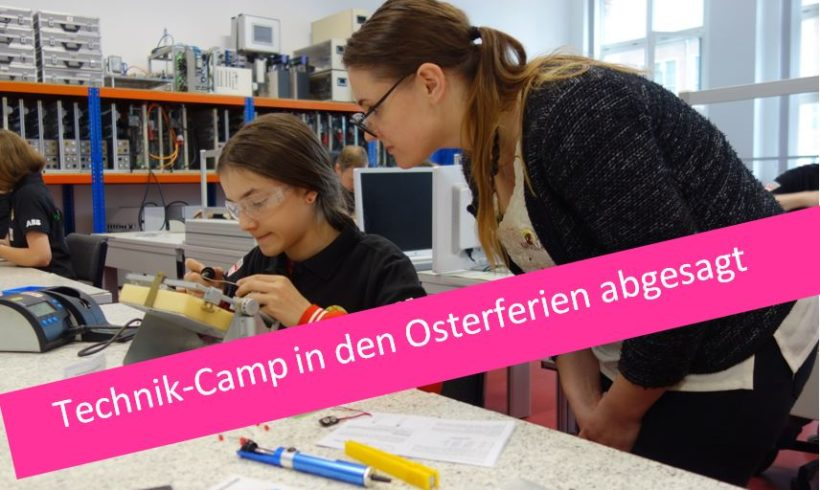 Technik-Camp in den Osterferien
