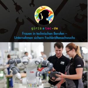girlsatec Unternehmensflyer