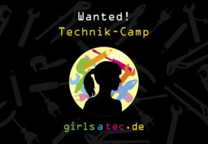Technik-Camp Postkarte