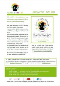 02/2021 - girlsatec unterstützen
